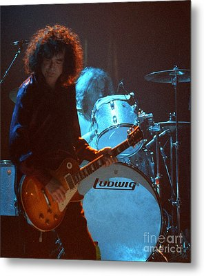Jimmy Page-0010 Metal Print by Timothy Bischoff