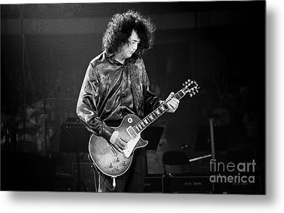 Jimmy Page-0028 Metal Print by Timothy Bischoff
