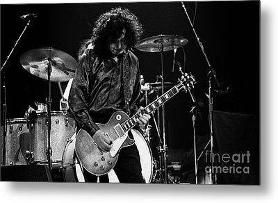 Jimmy Page-0047 Metal Print by Timothy Bischoff