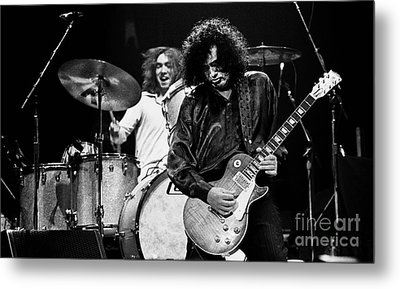Jimmy Page-0057 Metal Print by Timothy Bischoff