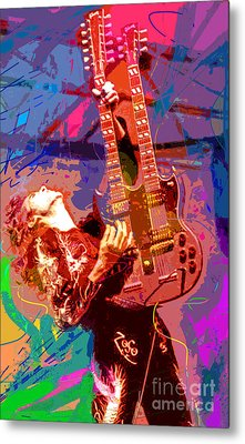 Jimmy Page Stairway To Heaven Metal Print