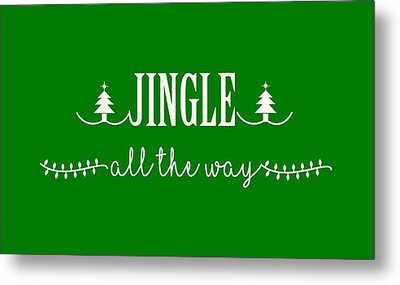 Metal Print featuring the digital art Jingle All The Way by Heidi Hermes