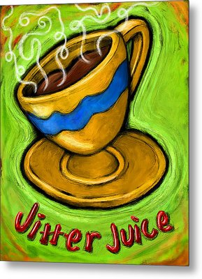 Jitter Juice Metal Print by David Kyte