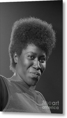 Joan Armatrading 4 Metal Print by Philippe Taka