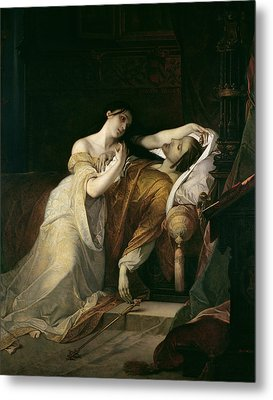 Joanna The Mad With Philip I The Handsome Metal Print