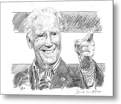 Joe Biden Metal Print by Shawn Vincelette