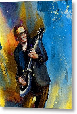 Joe Bonamassa 03 Bis Metal Print by Miki De Goodaboom
