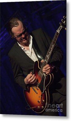 Joe Bonamassa - Guitar Solo In Minneapolis 1 Metal Print by Jim Schmidt MN