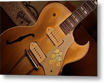 Joe Bonamassa 1953 Gibson E S-295 Metal Print