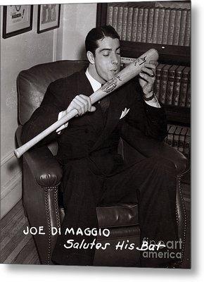 Joe Dimaggio Metal Print by Science Source