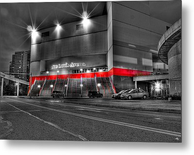 Joe Louis Arena Detroit Mi Metal Print