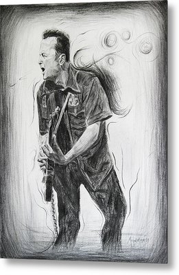 Joe Strummer's Dream Metal Print