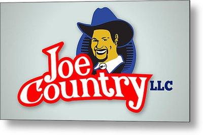 Joecountry Logo_llc Kitchen Metal Print by Joe Greenidge