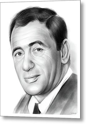 Joey Bishop Metal Print by Greg Joens
