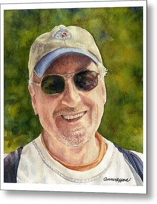 Metal Print featuring the painting John by Anne Gifford