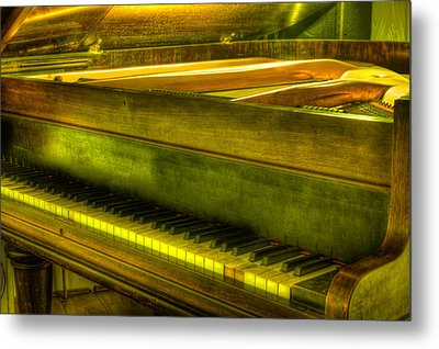 John Broadwood And Sons Piano Metal Print by Semmick Photo