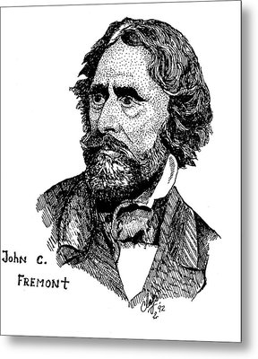 John C. Fremont Metal Print by Clayton Cannaday