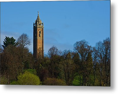 John Cabot Tower Metal Print by Brian Roscorla