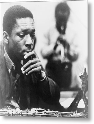 John Coltrane 1926-1967, Master Jazz Metal Print by Everett
