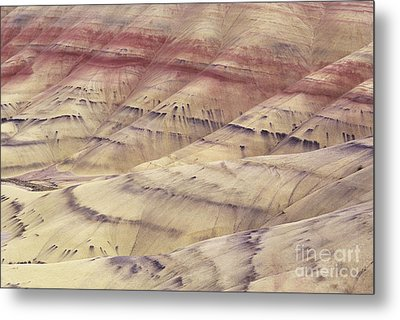 John Day Fossil Beds Metal Print by Greg Vaughn - Printscapes