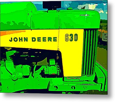 John Deere 630 Metal Print by John Gerstner