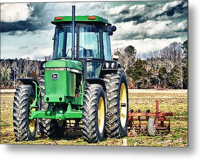 John Deere Metal Print by Kelly Reber