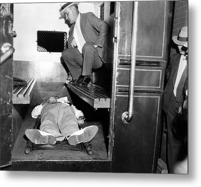 John Dillinger, Dead With Toes Metal Print by Everett