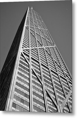 John Hancock Building Metal Print