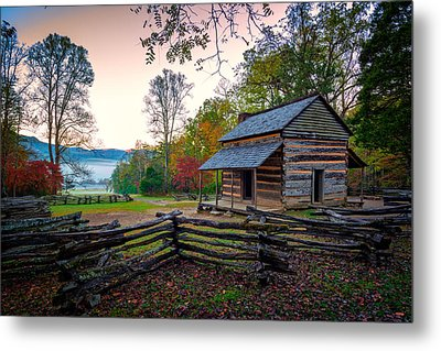John Oliver Place In Cades Cove Metal Print by Rick Berk