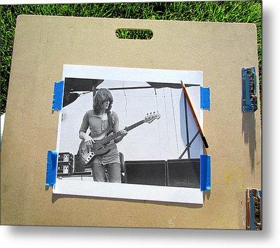 John Paul Jones Metal Print by James Dylan