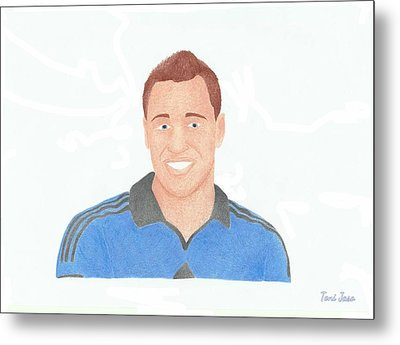 John Terry Metal Print by Toni Jaso