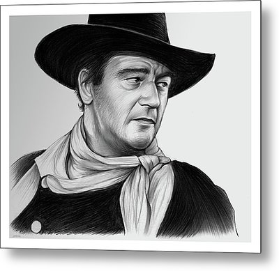 John Wayne 29jul17 Metal Print