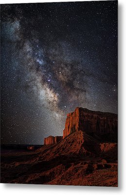 John Wayne Point Metal Print by Darren White