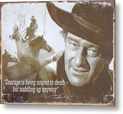 John Wayne - The Duke Metal Print