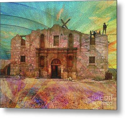 John Wayne's Alamo Metal Print