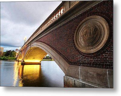 John Weeks Bridge Charles River Harvard Square Cambridge Ma Metal Print by Toby McGuire