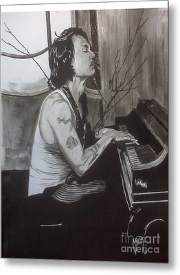 Johnny Depp 1 Metal Print