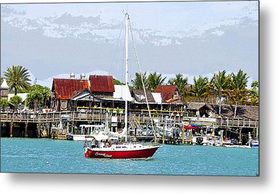 Johns Pass Florida Metal Print by David Lee Thompson