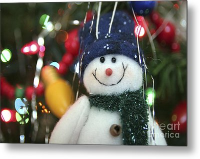 Jolly Metal Print by Jeannie Burleson