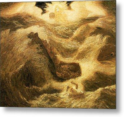 Jonah Metal Print by Albert Pinkham Ryder