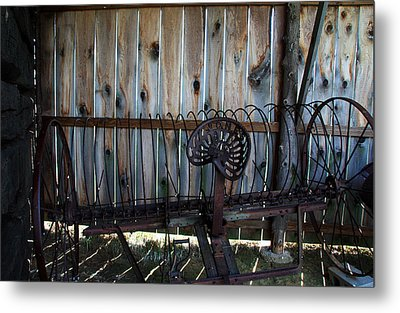 Metal Print featuring the photograph Jones Seat by Joanne Coyle