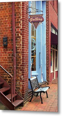 Jonesborough Tennessee Main Street Metal Print by Frank Romeo