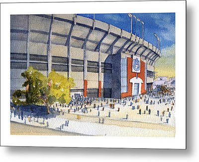 Jordan-hare Stadium Metal Print by Bill Whittaker