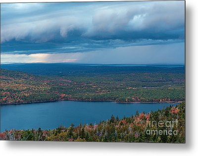 Jordan Pond Metal Print by Sharon Seaward