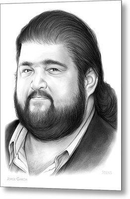 Jorge Garcia Metal Print by Greg Joens