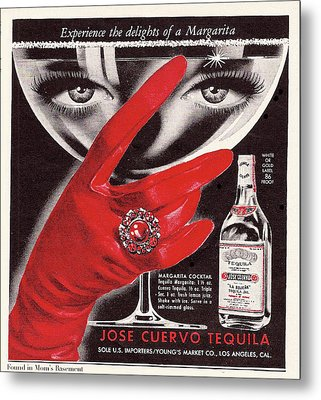 Jose Cuervo Tequila Experience The Delights Of A Margarita Metal Print
