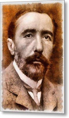 Joseph Conrad, Author Metal Print