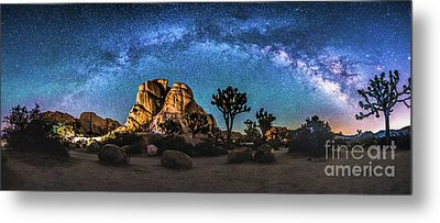Joshua Tree Milkyway Metal Print