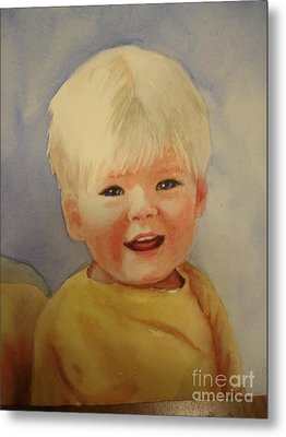 Joshua's Youngest Brother Metal Print by Marilyn Jacobson