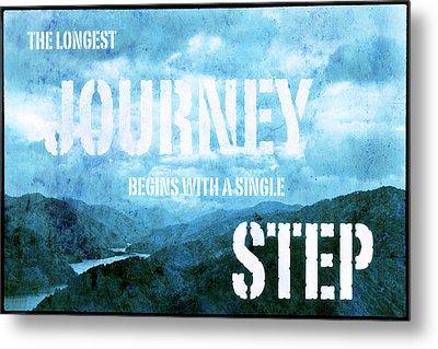 Journey Begins Metal Print